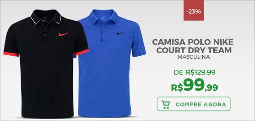 Camisa Polo Nike Court Dry Team
