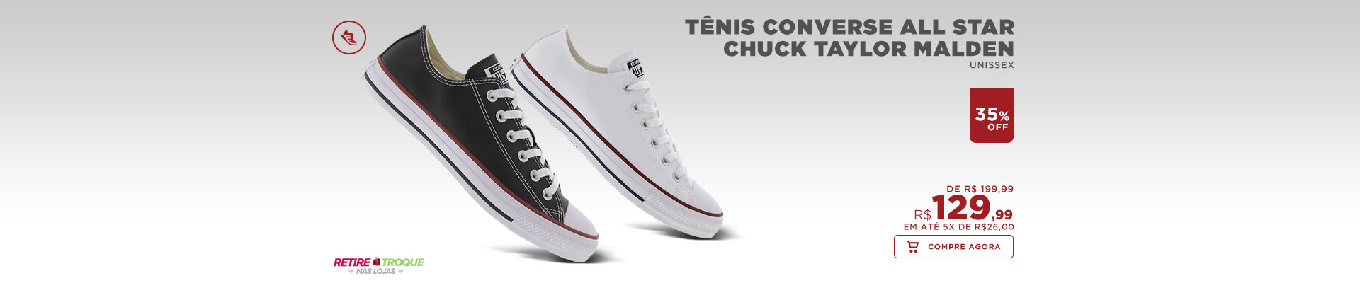 Tênis Converse All Star Chuck