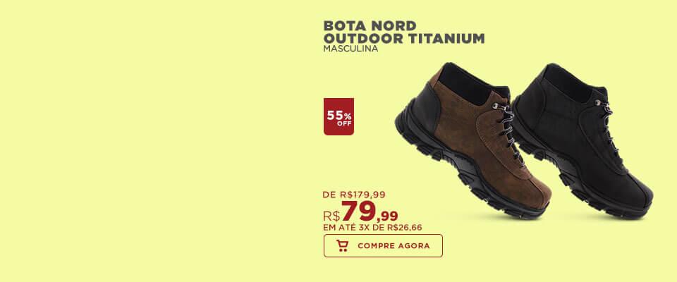Bota Nord Outdoor Titanium