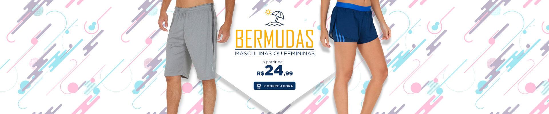 Bermudas Masculina e Feminina