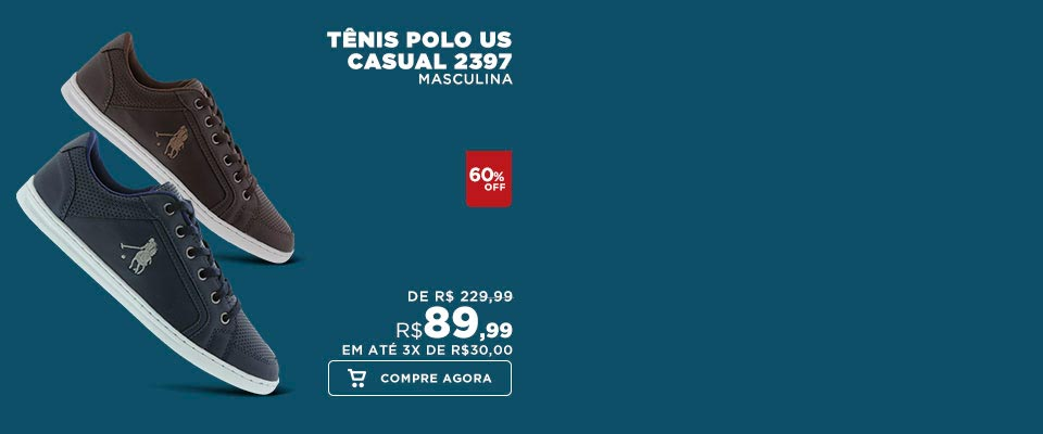 Tênis Polo US Casual 2397