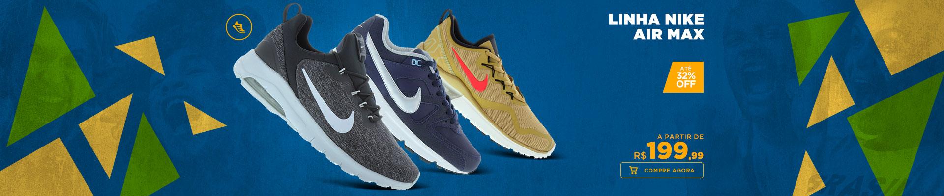 Linha Nike Air Max