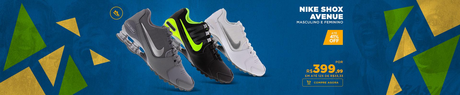 Linha Nike Shox Avenue