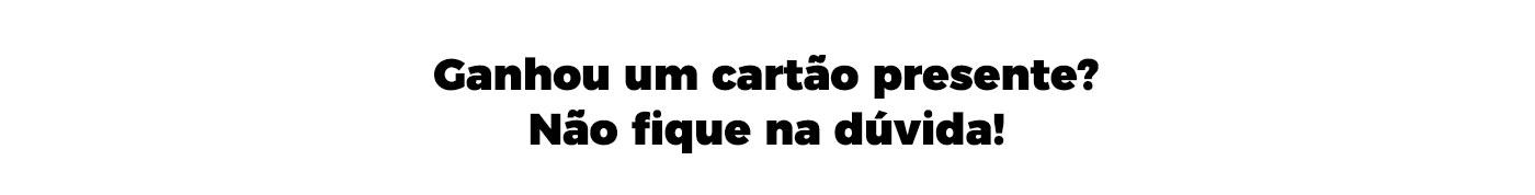 691326ad0 Centauro - Cartão Presente: Cartão Vale Compras nas Lojas, Site ou ...