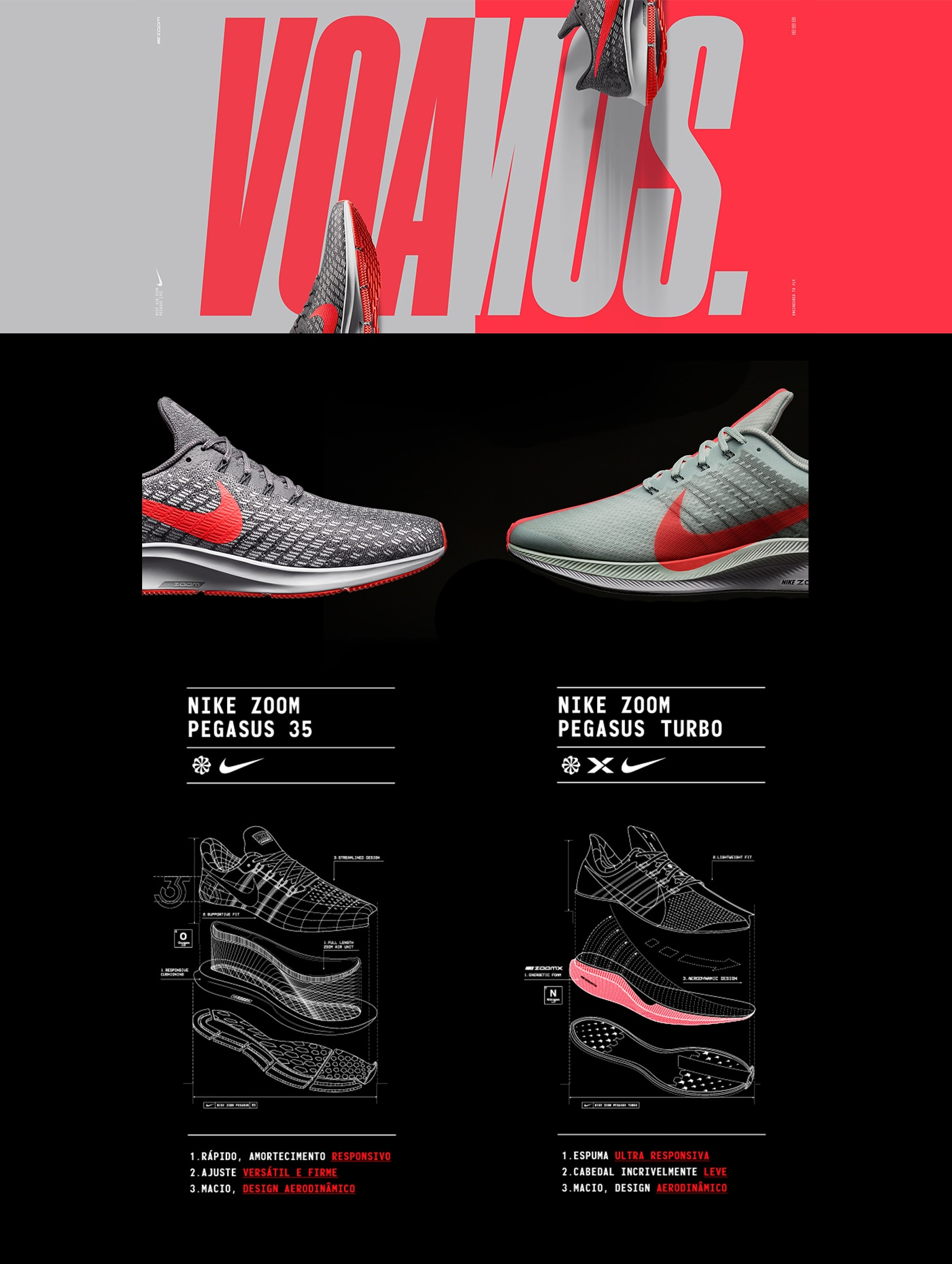 d65d26513 Tênis Nike Air Zoom Pegasus 35 - Masculino
