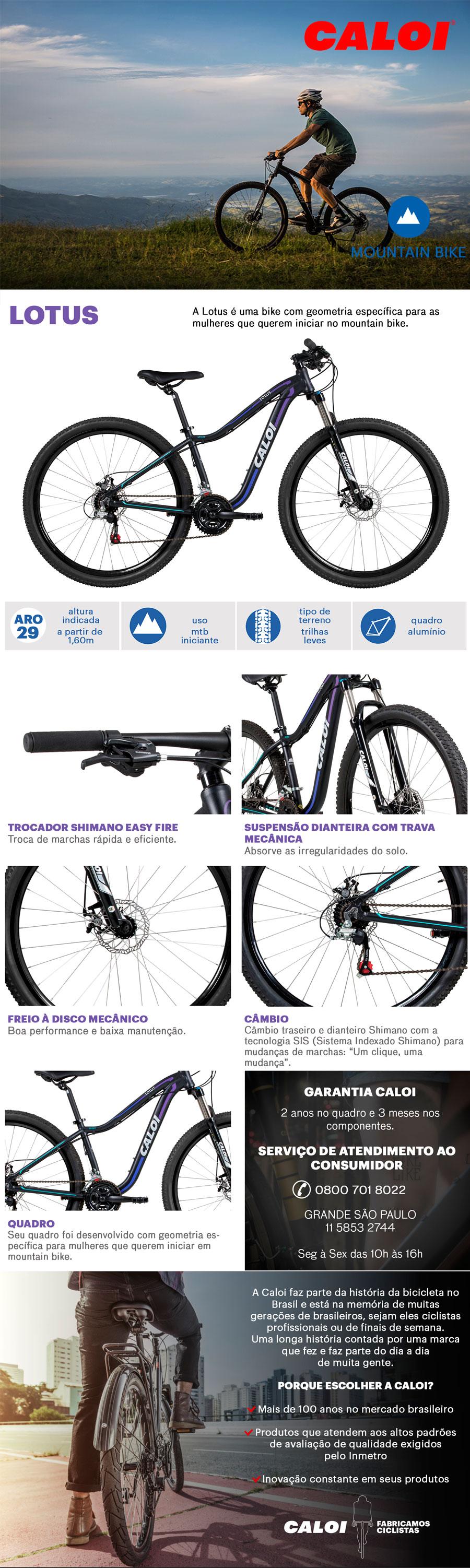 f6093844b Não perca a oportunidade e compre a sua Bicicleta Caloi Feminina hoje mesmo!